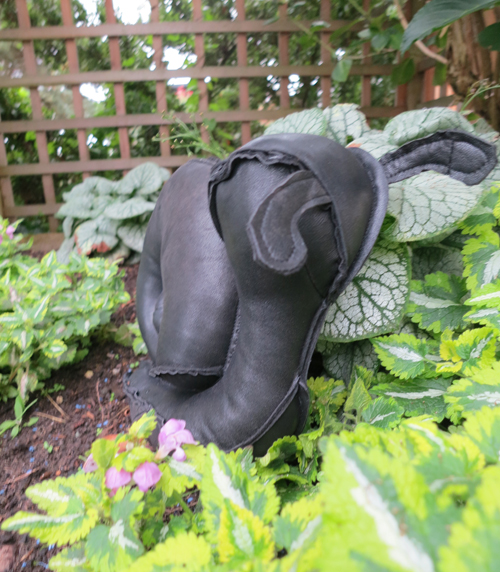 abby glassenberg shelby snail stuffie in leather