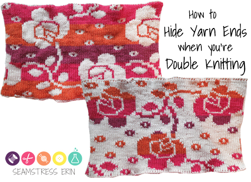 how to hide yarn ends