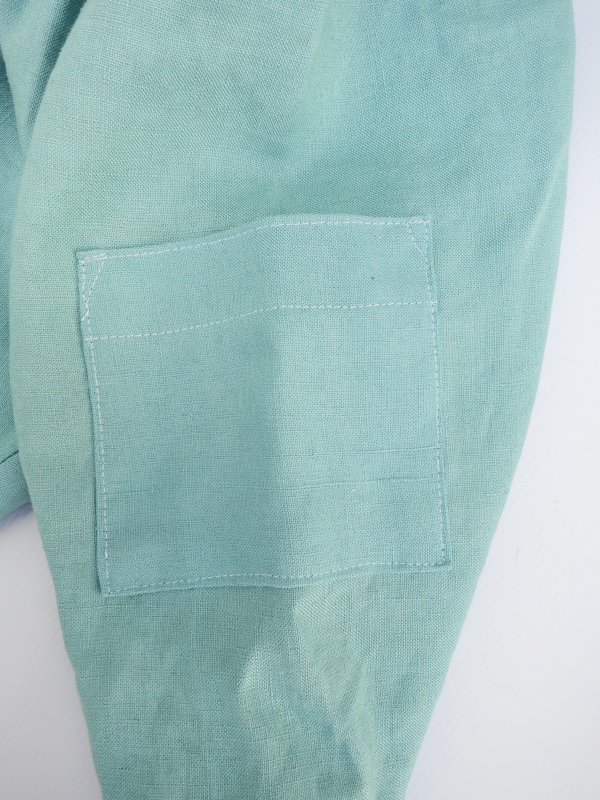 cargo pocket on baby pants
