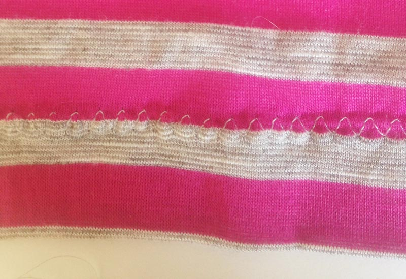 triple stretch stitch